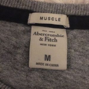 "Abercrombie Men's Medium ""Muscle"" long-sleeve tee"